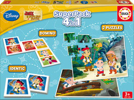Superpack 4en1 de Jake y los Piratas de Nunca Jamás | EDUCA