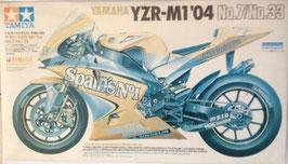Maqueta de moto YAMAHA  YZR -M1 - 04