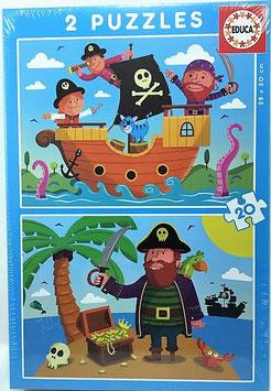 Puzzle Piratas I Educa