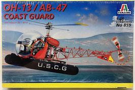 OH-13 / AB-47 COAST GUARD (italeri)