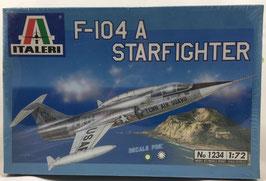 F-104 A STARFIGHTER  (italeri)