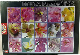 PUZZLE Collage de Flores EDUCA