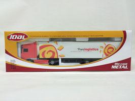 camión dafxf105 con trailer