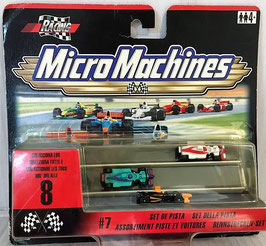 Set de Pistas rectas Racing ( Micro Machines )