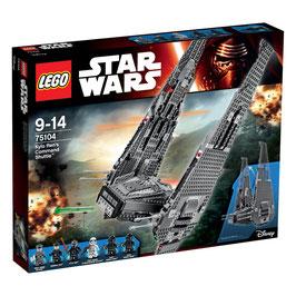 Nave de combate de kylo-ren ( Lego StarWars )