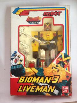 Bioman 3  Liveman  |  Bandai