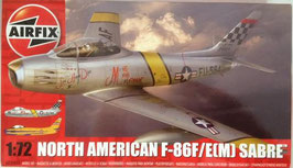 NORTH  AMERICAN  f - 86F/E(M)  SABE  (airfix)