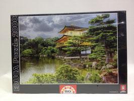 PUZZLE  Templo del Pabellón Dorado de Kioto |  EDUCA