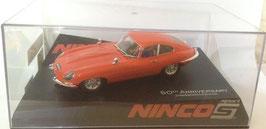 Jaguar E Type Coupé Car Red (50 Aniversario)