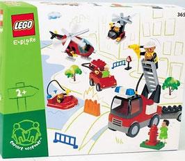 Departamento de bomberos (Lego Explorer)