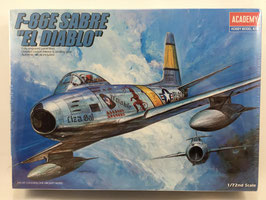 """F-86E SABRE """"EL DIABLO""""  (academy)"""