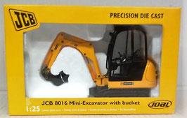 Mini Excavadora JCB 8016 c/pala
