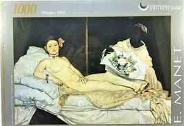 Puzzle  E. Manet I Editions Ricordi
