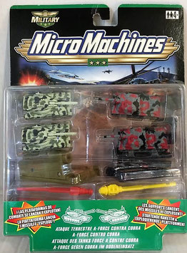 Ataque Terrestre A-Force contra Cobra ( Micro Machines )