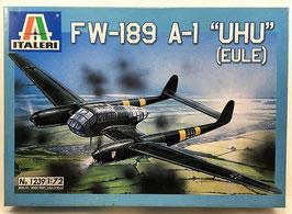 """FW-189  A-1 """"UHU""""   (italeri)"""
