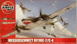 MESSERSCHEMITT  BF110C - 2/C - 4  (airfix)