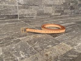 Louis Vuitton schmaler Gürtel aus VVN-Leder (passend zur Pochette Florentine)