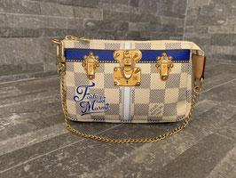 Louis Vuitton Damier Azur Summer Trunks Mini Pochette Accessoires Forte Dei Marmi