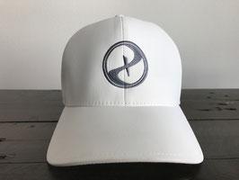 PARADIGM FlexFit Logo Cap White