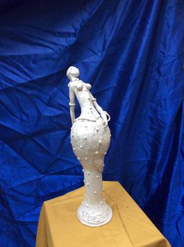 D14 Dama Stilizzata Bianca
