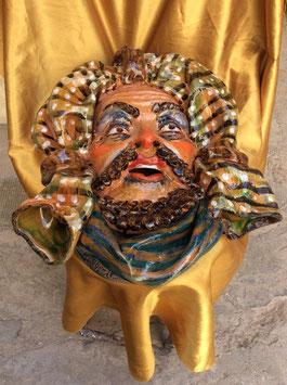 M12 Maschera Saracena Uomo da muro