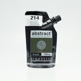 Sennelier Abstract 120ml - Burnt Earth Green 214