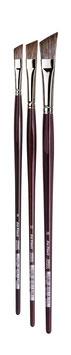 Da Vinci Grigio Slanted Edge Synthetic Brush - Series 7197