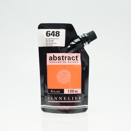 Sennelier Abstract 120ml - Orange Fluorescent 648