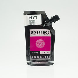 Sennelier Abstract 120ml - Deep Magenta 671