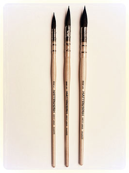 Matterhorn Pure Petit Gris Quill Mop Series 8338 - Top Watercolour Brush