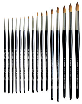Da Vinci Retouching Brush - Extra Short - Series 1505