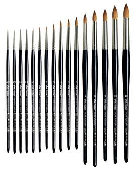 Da Vinci Retouching Brush - Extra Short - Series 1505