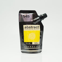 Sennelier Abstract 120ml - Cadmium Yellow Lemon Hue High Gloss 545B