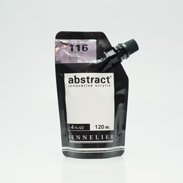 Sennelier Abstract 120ml - Titanium White High Gloss 116B