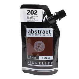 Sennelier Abstract 120ml - Burnt Umber 202
