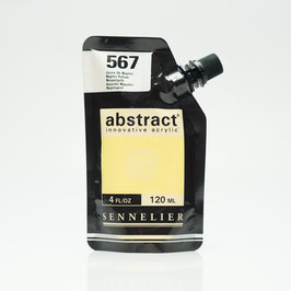 Sennelier Abstract 120ml - Naples Yellow 567