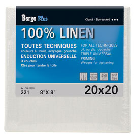 Berge Plus 100% Linen Canvas