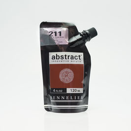 Sennelier Abstract 120ml - Burnt Sienna High Gloss 211B