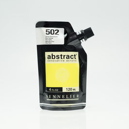 Sennelier Abstract 120ml - Fluorescent Yellow 502