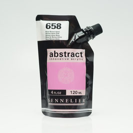 Sennelier Abstract 120ml - Rose Quinacridone 658