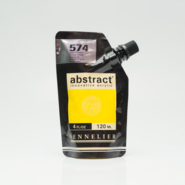 Sennelier Abstract 120ml - Primary Yellow High Gloss 574B