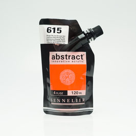 Sennelier Abstract 120ml - Cadmium Red Orange Hue 615