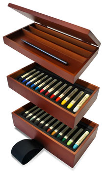 Sennelier Luncheon on the Grass  Artist'Oil Pastels  Set - 24 Pastels + Graphite Stick