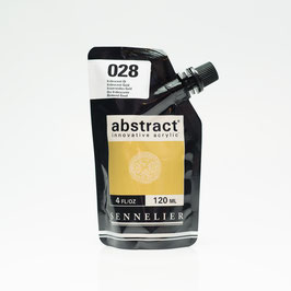 Sennelier Abstract 120ml - Iridescent Gold 028