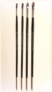 Matterhorn Synthetic Mongoose Filbert Brush Series 3389