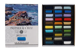 Sennelier 1/2 Soft Pastels Seaside Cardboard Set - 30