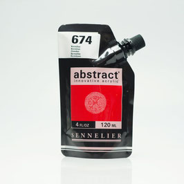 Sennelier Abstract 120ml - Vermilion  674
