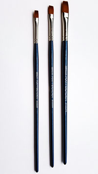 Matterhorn Flat Oil and Acrylic Vegan Hair Brush Series 2802