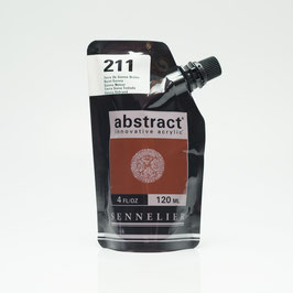 Sennelier Abstract 120ml - Burnt Sienna 211