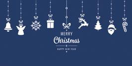 Elegance - Weihnachtskarte Nr. 987